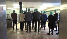 Miljøteknologer besøger Nordsjællands Hospital